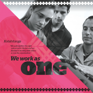 We work as one